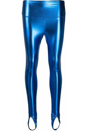 MAISON CLOSE Angel metallic leggings