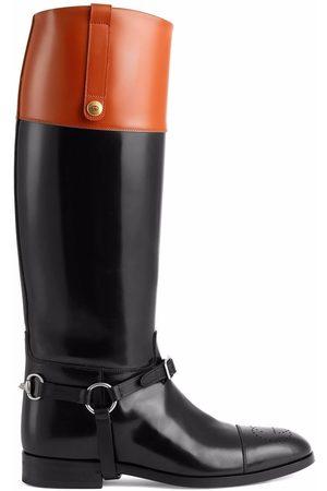 Gucci Homem Botas - Horsebit knee-high boots