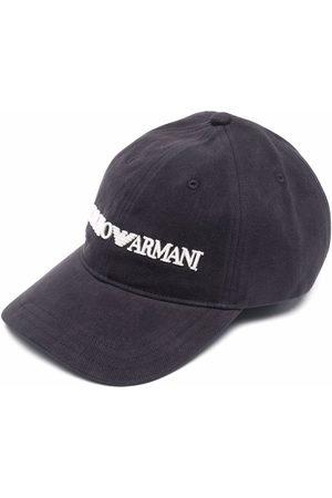 Emporio Armani Homem Chapéus - Embroidered-logo baseball cap