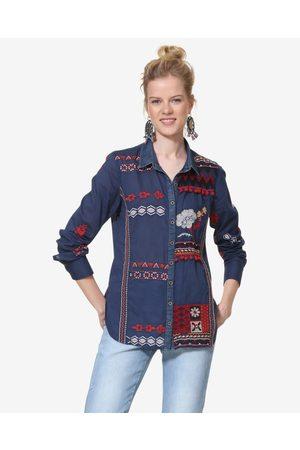 Desigual Peru Shirt Blue