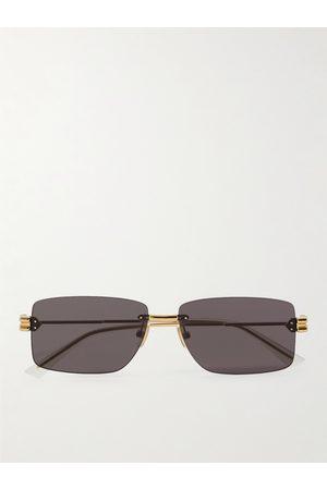 Bottega Veneta Homem Óculos de Sol - Frameless -Tone Sunglasses