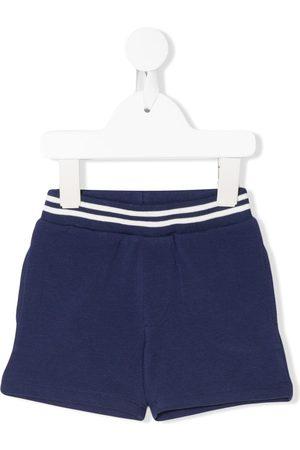 Moncler Striped waist track shorts