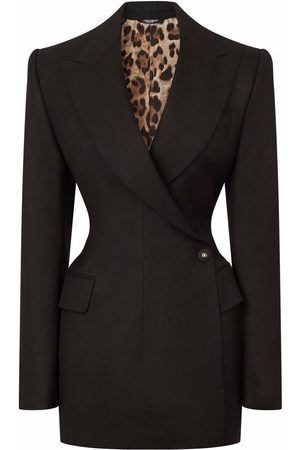 Dolce & Gabbana Tailored button-front coat