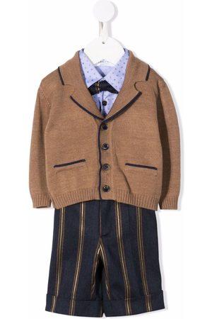 COLORICHIARI Tailored shirt trousers set