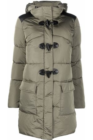 Pinko Hooded cargo-pocket padded coat