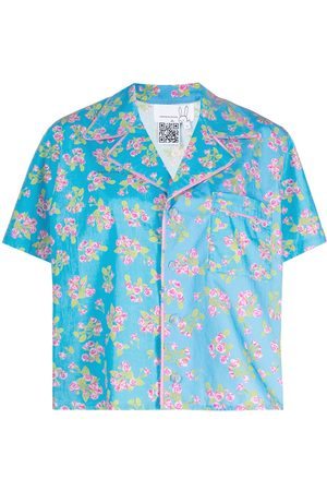 Natasha Zinko Floral-print short-sleeved shirt