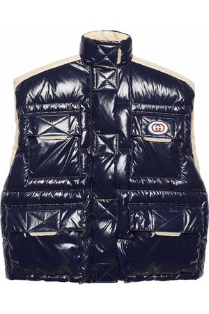 Gucci Mulher Coletes - Down-feather reversible gilet