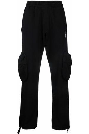 OFF-WHITE Homem Calças Cargo - Logo-print cargo trousers