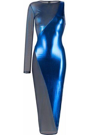 MAISON CLOSE Angel asymmetric fitted dress