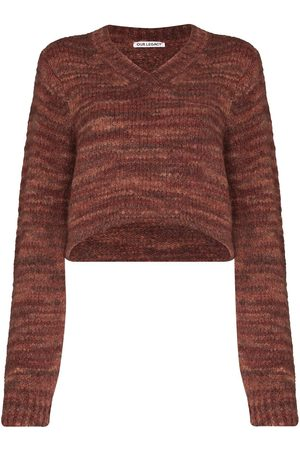 OUR LEGACY Mulher Camisolas - Intact two-face jumper