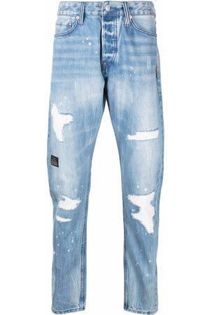 Evisu Slim-fit ripped jeans