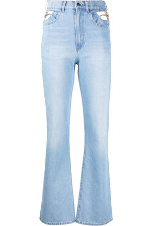Seen Users High-rise flared jeans