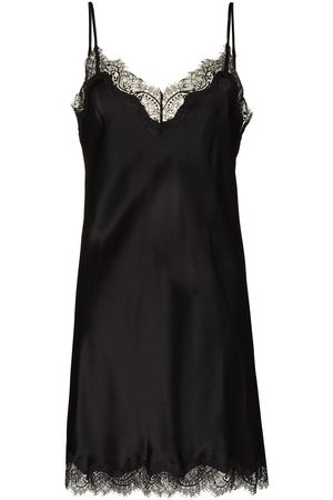 Sainted Sisters Mulher Conjuntos de Lingerie - Lace-trimmed nightdress