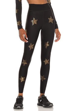 ULTRACOR Croc Knockout Ultra High Legging in - Black. Size L (also in M, S, XS).
