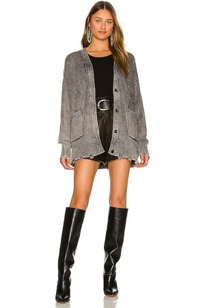 Young, Fabulous & Broke Indie Sweater in - Grey. Size M/L (also in S/M).