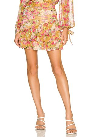 ROCOCO SAND Avar Skirt in - Mustard. Size L (also in M, S, XS).