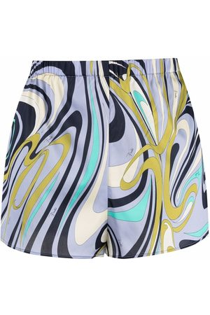 Emilio Pucci Onde-print pyjama shorts
