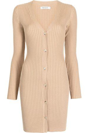 Anna Quan Misha ribbed-knit dress
