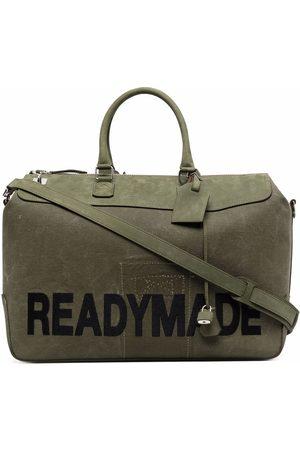 READYMADE Logo-print gym bag