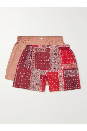 Anonymous ism Homem Boxers - Two-Pack Cotton Boxer Shorts