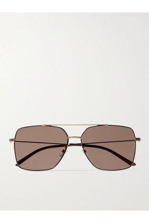 Gucci Homem Óculos de Sol - Aviator-Style -Tone Sunglasses