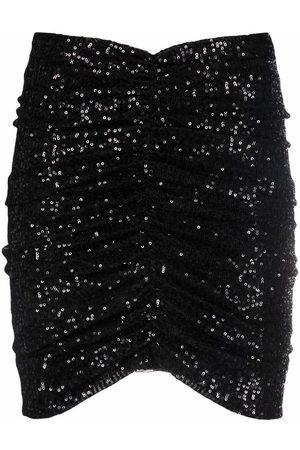 Pinko Sequin-embellished mini skirt