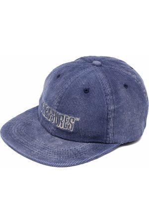 Pleasures Homem Chapéus - Logo embroidered corduroy cap