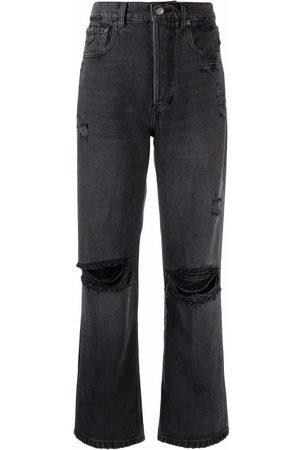 Boyish Jeans Distressed straight-leg jeans
