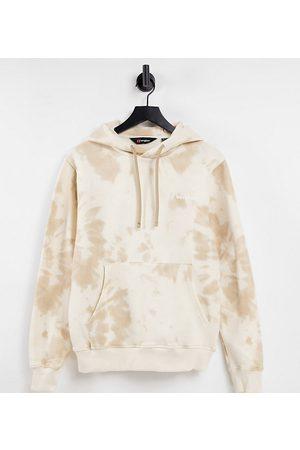 Berghaus Heritage Small Logo tie dye hoodie on beige Exclusive at ASOS-Neutral