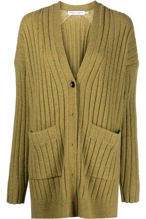 PROENZA SCHOULER WHITE LABEL V-neck ribbed-knit cardigan