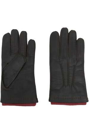 N.PEAL Homem Luvas - Westminster leather gloves