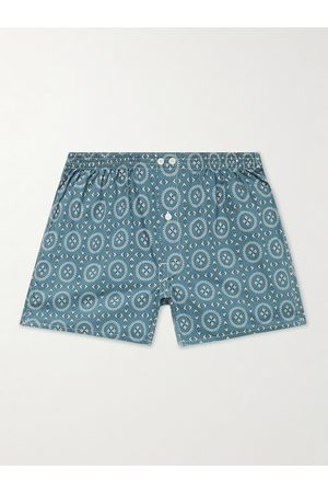 ANONYMOUS ISM Homem Boxers - Printed Cotton Boxer Shorts