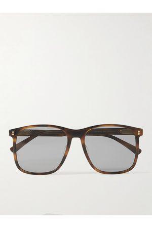Gucci Homem Óculos de Sol - D-Frame Acetate Blue Light-Blocking Sunglasses