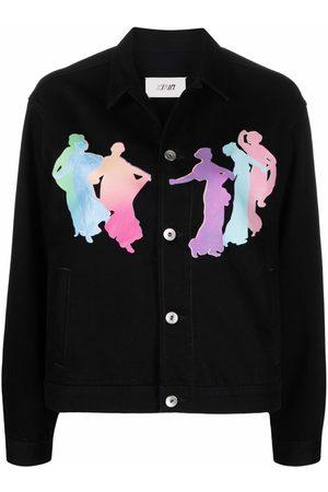 Kirin Mulher Ganga - Muses-motif shirt jacket
