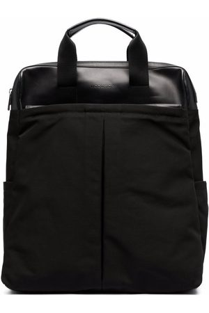 Woolrich Zip-up panelled backpack