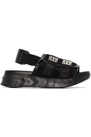 Givenchy Mulher Sandálias - Marshmallow slingback leather sandals