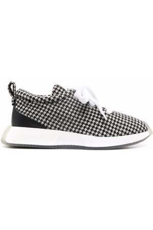 Giuseppe Zanotti Houndstooth low-top sneakers