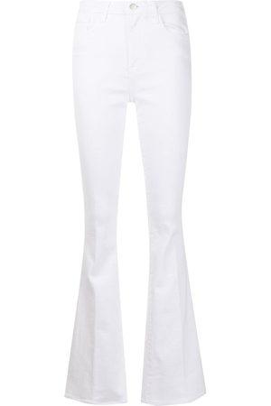 L'Agence Mulher Bootcut & Boca-de-sino - High-rise flared jeans