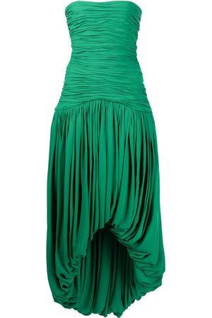 Khaite Shivani strapless dress