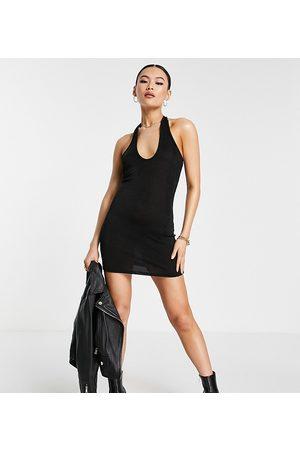 AsYou Halter dress in black