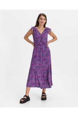 GAP Maxi Dress Pink Violet