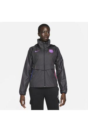 Nike Casaco de futebol FC Barcelona AWF para mulher