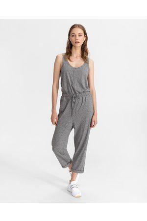 GAP Mulher Calças & Jeans - Henley Overall Grey