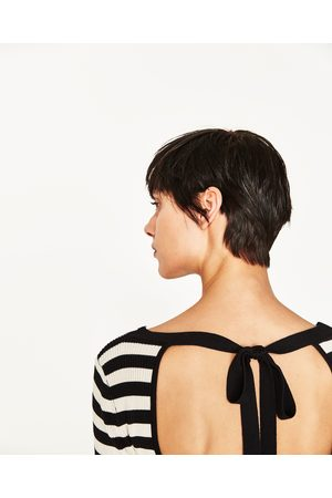 Senhora Tops de Cavas - Zara TOP COSTAS ABERTAS - Disponível em mais cores
