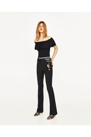 Senhora Caicais - Zara TOP BANDEAU FOLHO - Disponível em mais cores