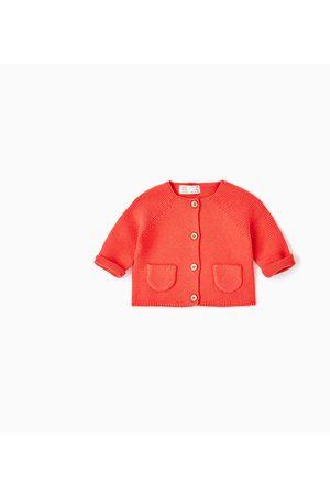 Criança Cardigans - Zara CASACO BÁSICO DE MALHA - Disponível em mais cores
