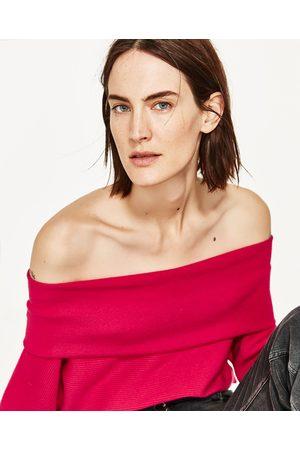 Senhora Camisolas sem capuz - Zara CAMISOLA DECOTE BANDEAU - Disponível em mais cores