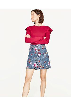 Senhora Camisolas sem capuz - Zara CAMISOLA FOLHO NO OMBRO - Disponível em mais cores
