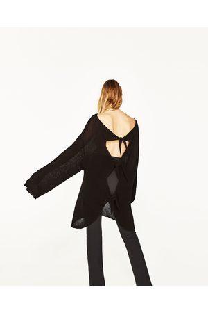 Senhora Camisolas sem capuz - Zara CAMISOLA LAÇOS NAS COSTAS - Disponível em mais cores