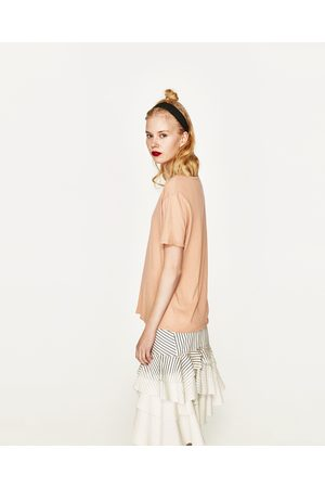 Senhora T-shirts & Manga Curta - Zara T-SHIRT BÁSICA - Disponível em mais cores